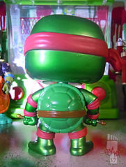 "FUNKO 'POP TELEVISION' :: TEENAGE MUTANT NINJA TURTLES - ""RAPHAEL"" #61 ;  Limited SDCC Exclusive Vynil Figure iv (( 2012 ))"
