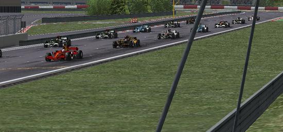 Corrida movimentada em Nurburgring