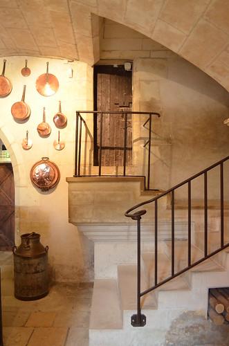 Chateau de Chenonceau kitchen
