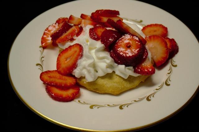 sour cream shortcake