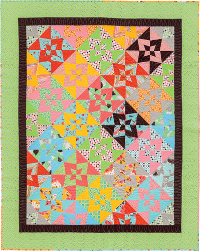 Wham quilt - from Becoming a Confident Quilter, my book