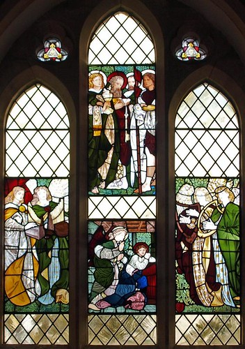 East window Burne-Jones (1)
