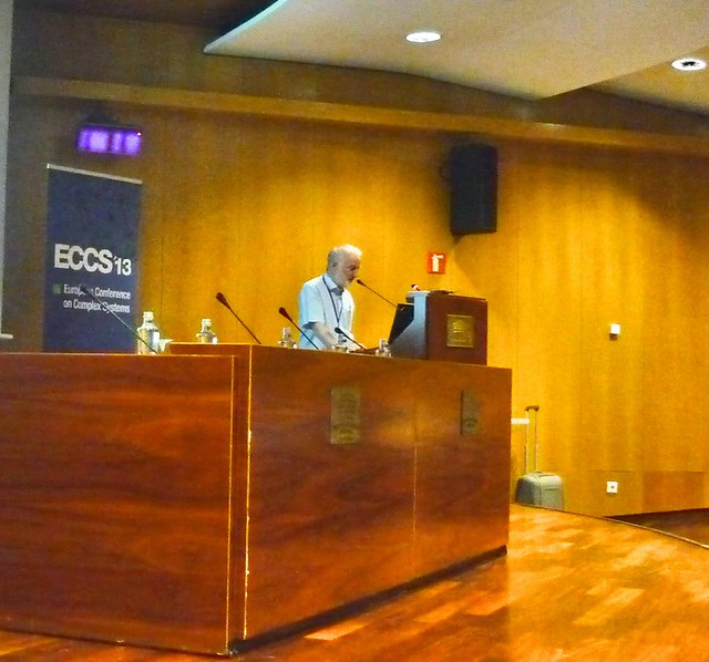 Jeff Johnson presenting at ECCS'13