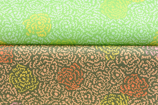 new fabric collection:  firefly flowers