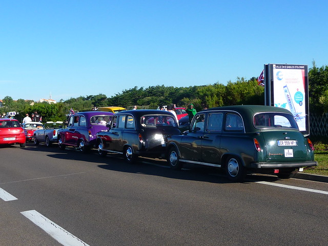 fairway taxis in sables d 39 olonne flickr photo sharing. Black Bedroom Furniture Sets. Home Design Ideas