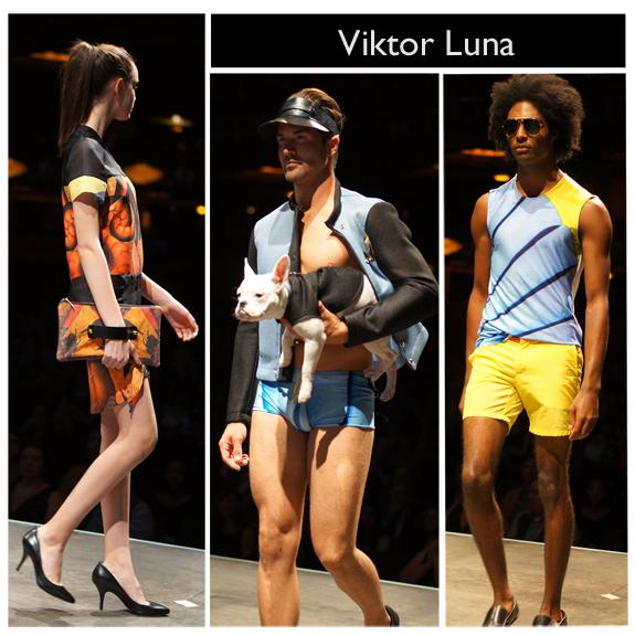STLFW, Project Runway, Viktor Luna c