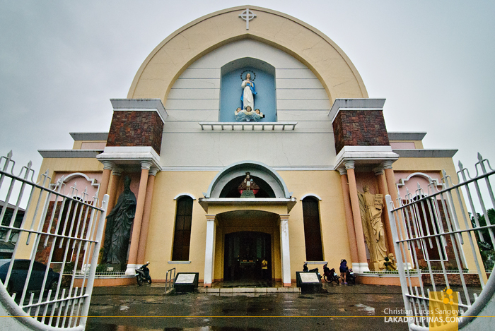 The Ozamiz Cathedral Facade