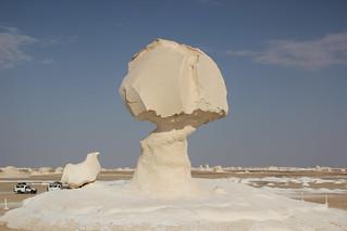 die weiße Wüste