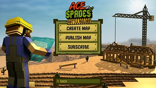Ace of Spades Map Editor Menu