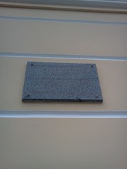 Photo of Marble plaque number 27994
