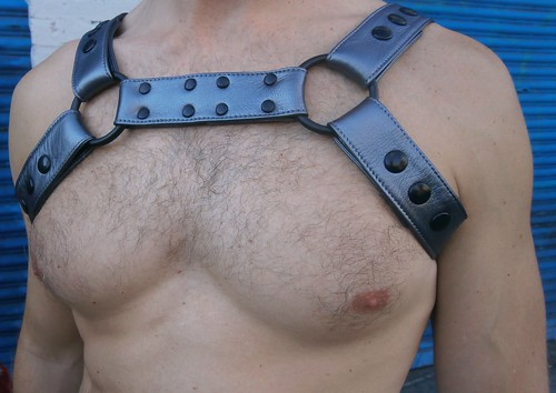 FOLSOM STREET FAIR 2013 !  HELLA HOT CHEST (SAFE PHOTO)
