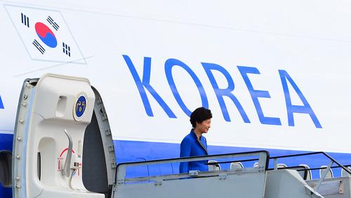 Presiden Korea Selatan Tiba di Bali