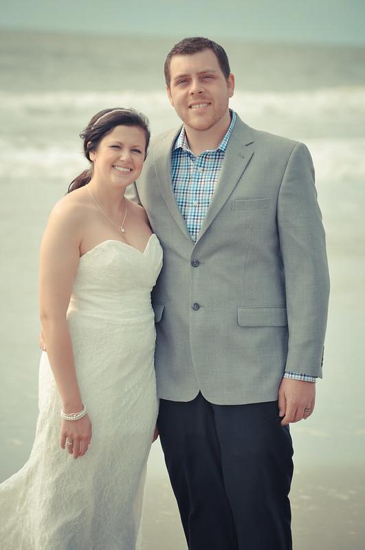 Myrtle Beach Wedding And Trash The Dress