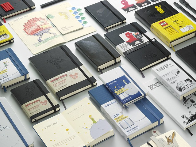 Moleskine Limited Editions Planners 2014