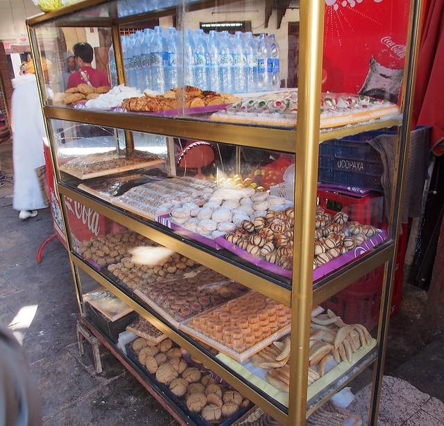 FES老城內的甜點店