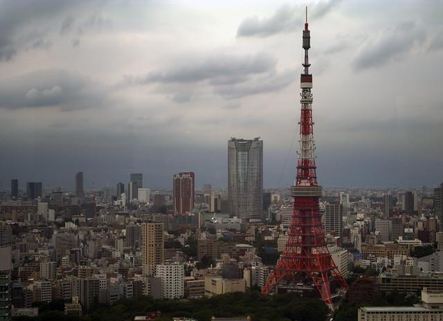 Tokyo Tower, Planar 100mm f3.5(f11)1200dpi