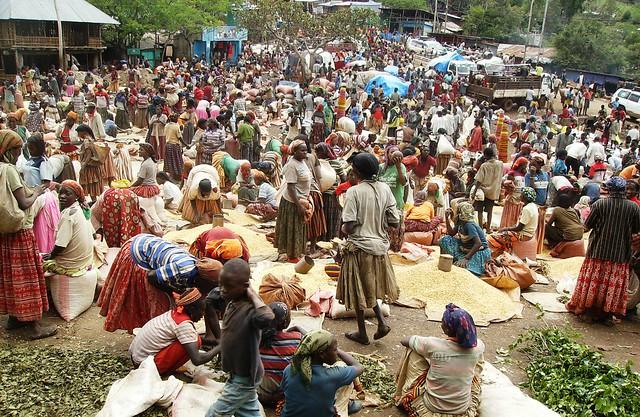 Ethiopia, Konso Market
