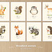 Woodland animals wall art set by {JooJoo}