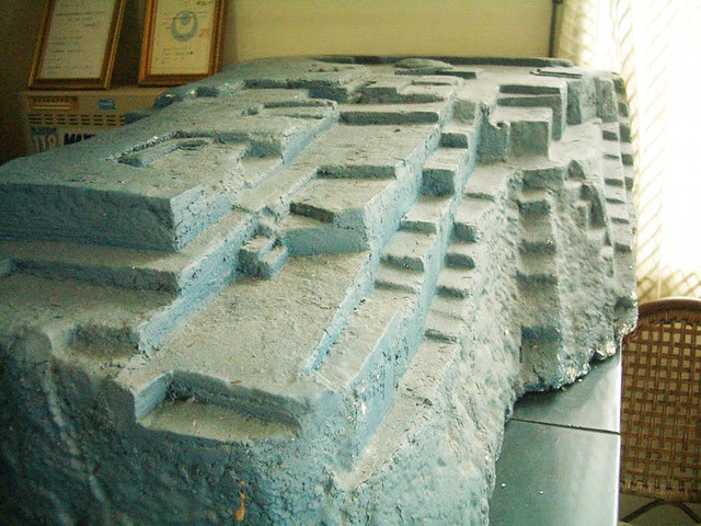 A Model of Yonaguni Monument