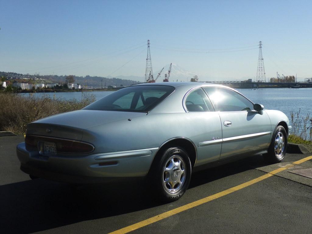 My new 1996 Riviera -- Light Jadestone Metallic, normally aspirated 10567901456_a61eca3cd8_b