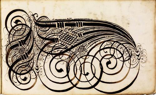 010-Kalligraphische Schriftvorlagen- 1626-1634- Johann Hering- Staatsbibliothek Bamberg