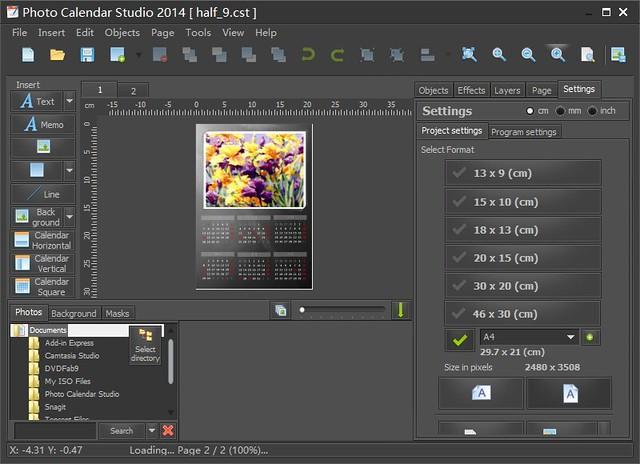 Mojosoft Photo Calendar Studio 2014 v.1.11 注册码