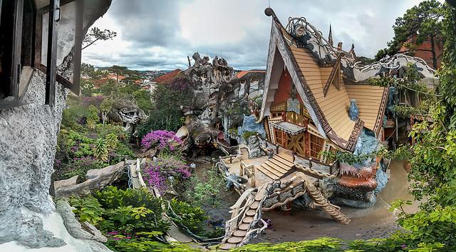 Crazy House. Dalat. Vietnam