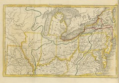 """British Library digitised image from page 16 of """"A Tour from the City of New-York, to Detroit, in the Michigan Territory, made between the 2d of May and the 22d of September, 1818, etc [With maps.]"""""""