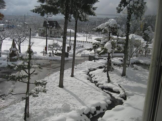 写真_雪が降りました(妙高高原)