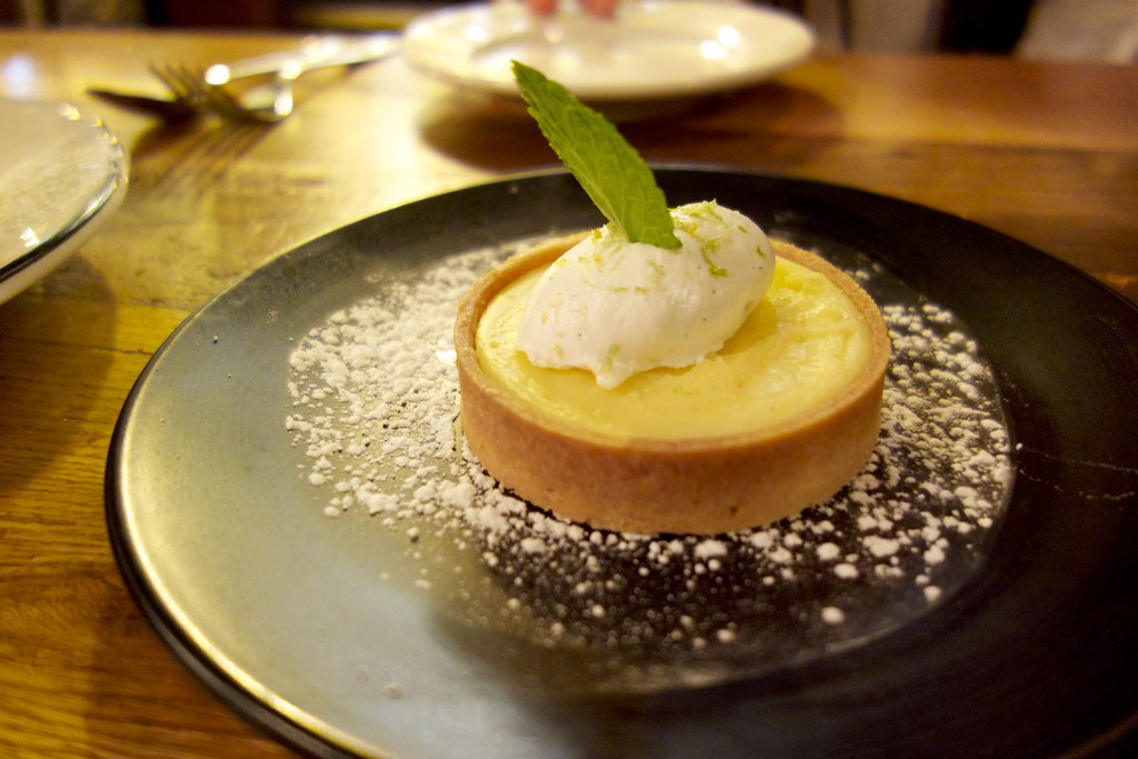 Meyer Lemon Tart