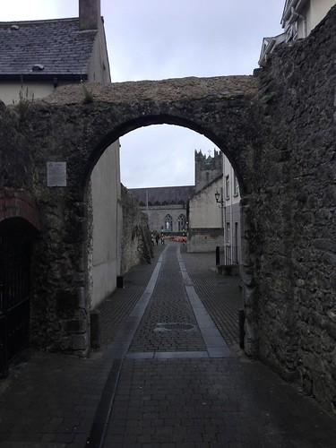 Narrow Arch on a Street