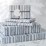 Gifts wrapped in 'Woods' Gift Wrap