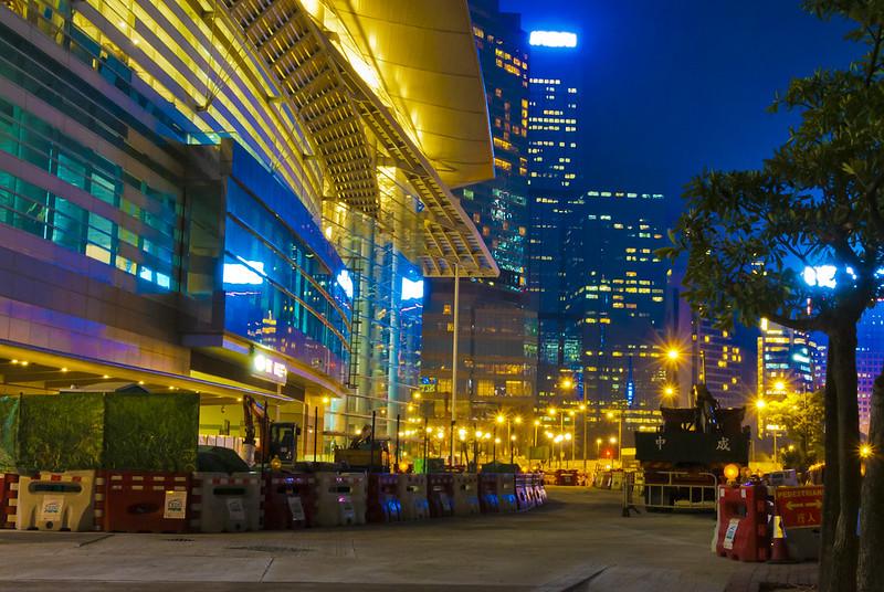 香港コンベンション&エキシビジョンセンター周辺