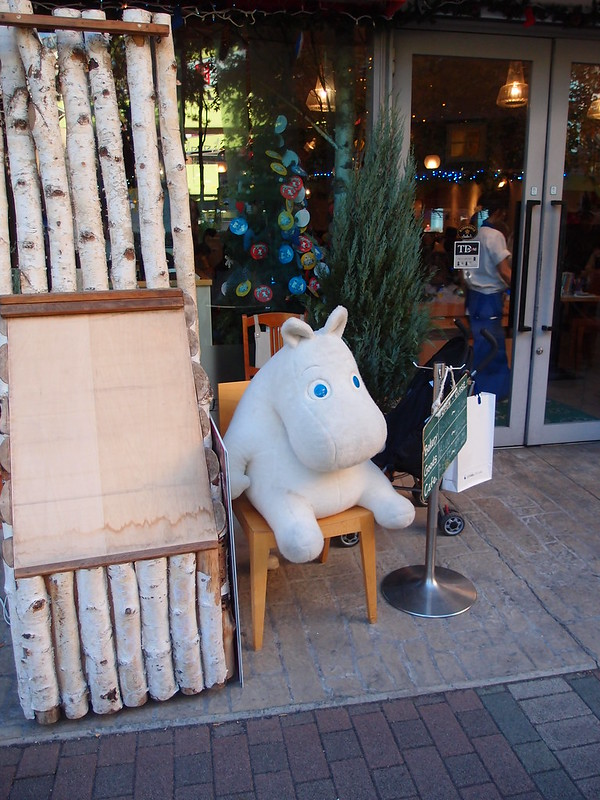 Moomins Cafe @ Tokyo Dome City