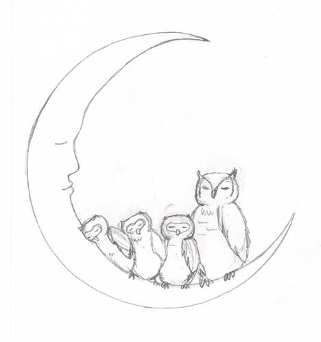 owls concept sketch