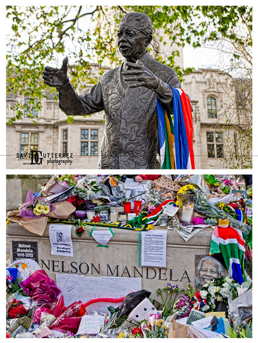 Nelson Mandela Tribute by david gutierrez [ www.davidgutierrez.co.uk ]
