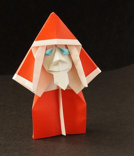 Origami Mikulás (Frim Balázs)
