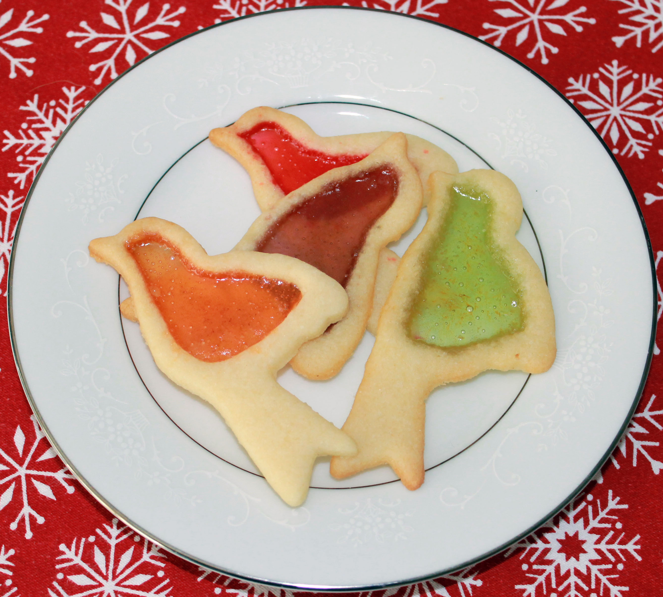 Mama's Stained Glass Cookies