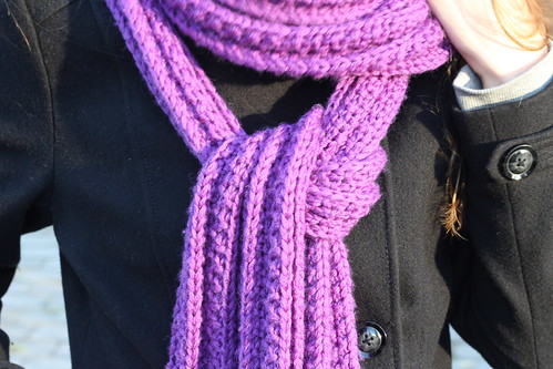 Sinfull ribbed scarf #2