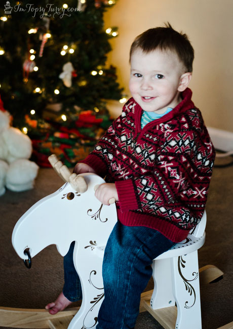 Christmas-rocking-moose-decoration-#StaplesSharpie