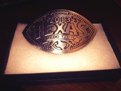 Texas Bowl Belt