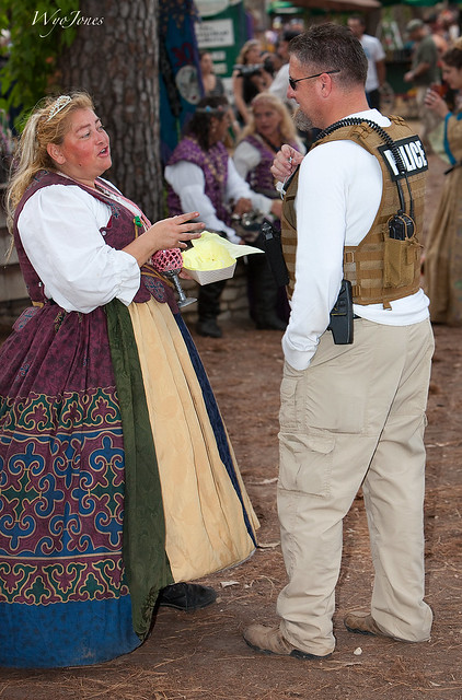 Policing the Renfest