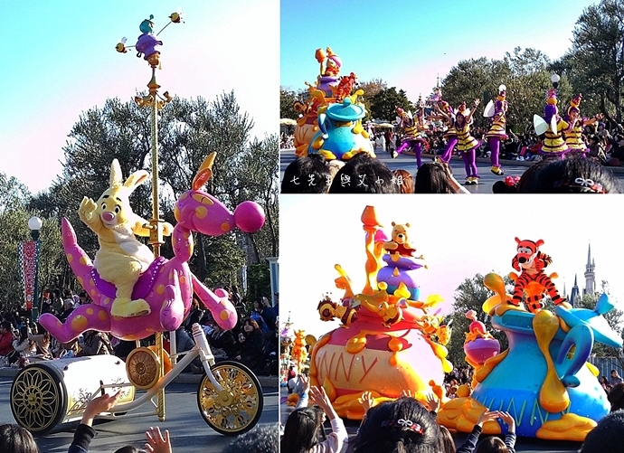 11 迪士尼聖誕村大遊行幸福在這裡夢之光大遊行