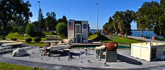 Legoland, Florida - Miniland Kennedy Space Center
