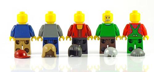 LEGO 10229 Winter Village Cottage figs06
