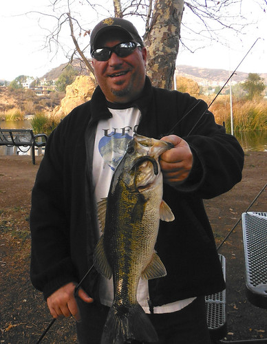 3.5 Pound Bass on Gambler Baby Bacon Rind