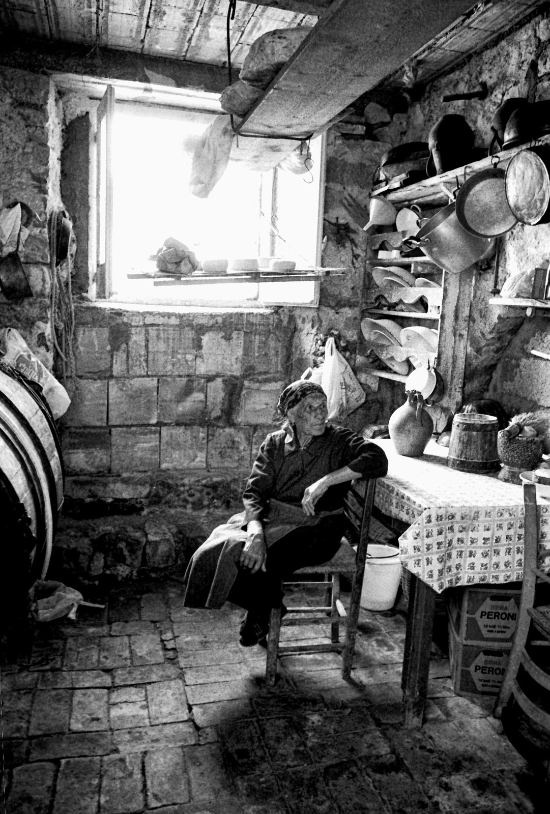 1960. Interno in Abruzzo. See large please