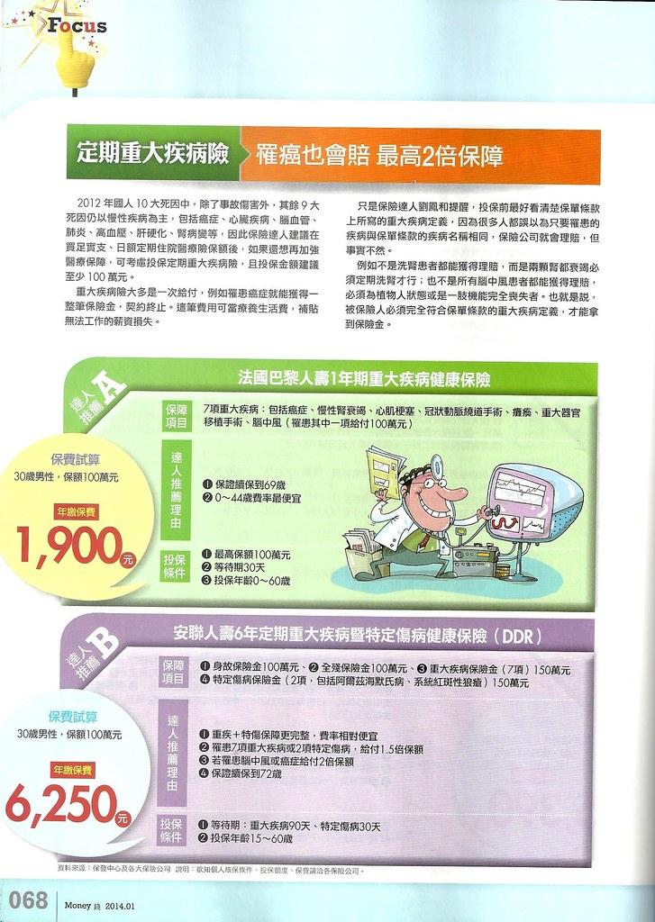 201401[Money錢No.76]2014必Buy保單大公開P.68