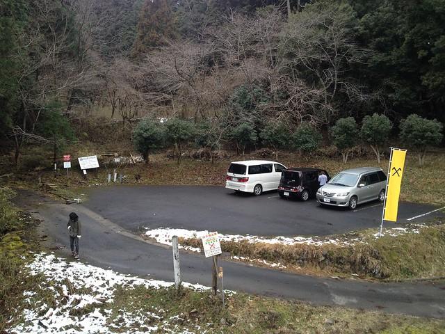 松尾山 登山口 駐車場