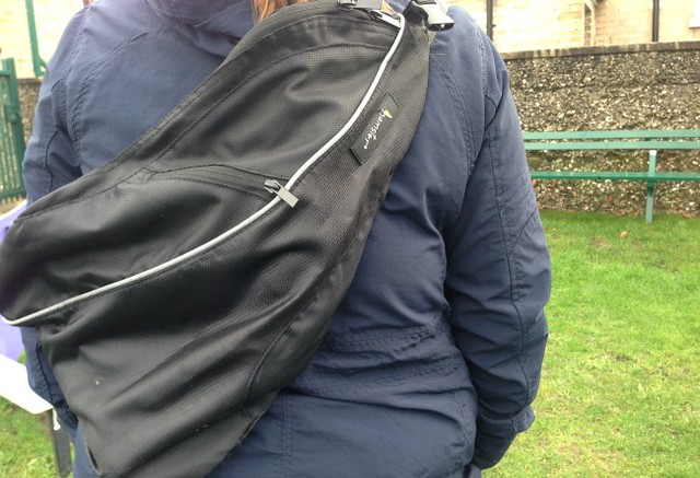 Hamster Buggy Bag on back